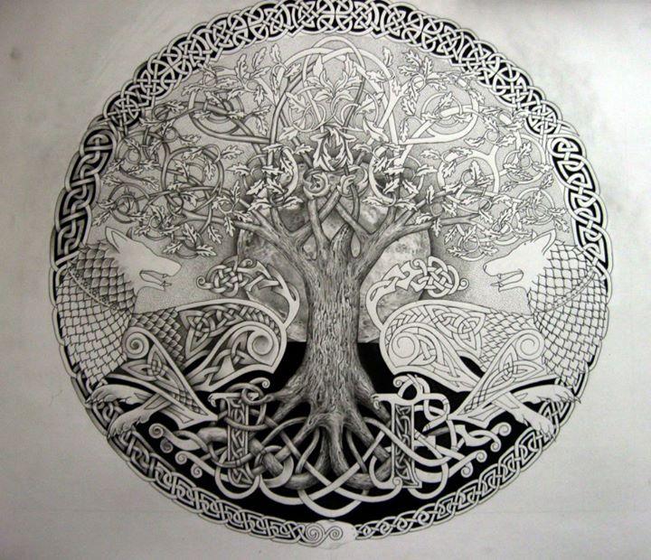 Celtic Tree Tattoos
