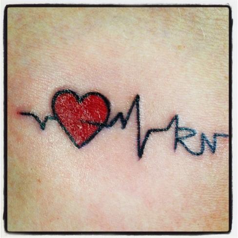 Registered Nurse Tattoos