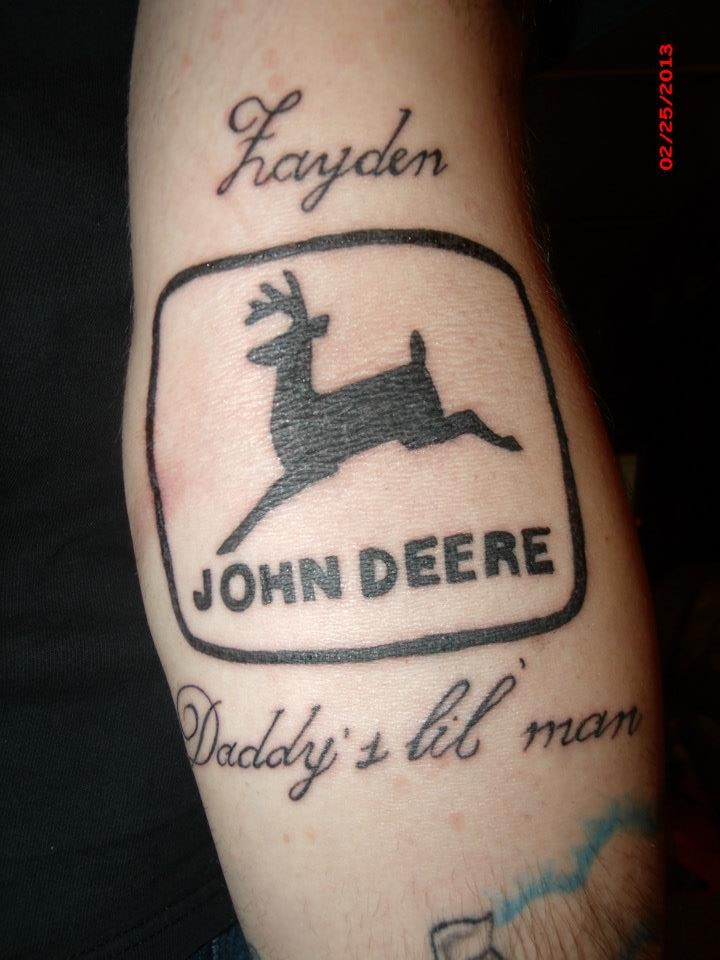 John Deere Tattoo Ideas : John deere tattoos