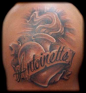 Sacred Heart Tattoos
