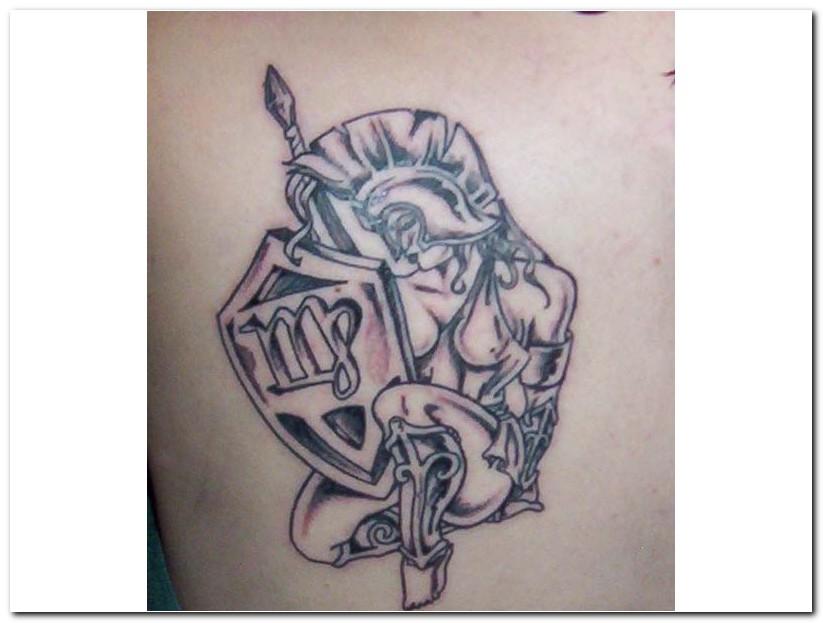 b2a65f665311a Virgo zodiac Tattoos
