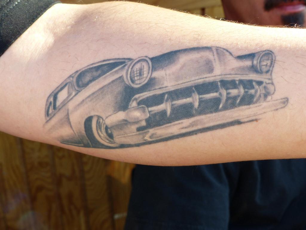 Chevrolet tattoos for Chevy bowtie tattoos
