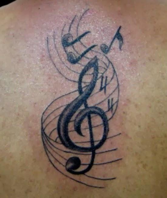 Music Symbol Tattoos