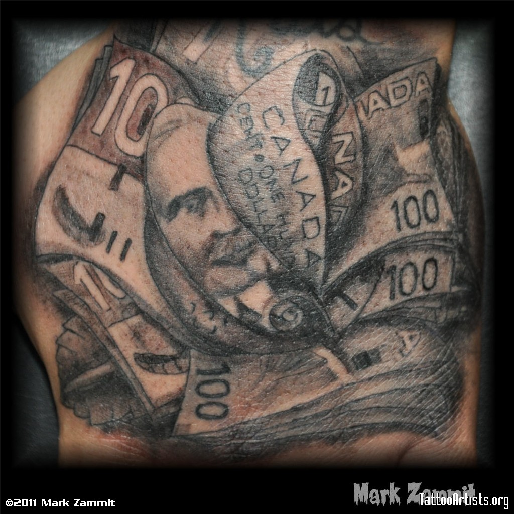 Money Tattoos - photo#24