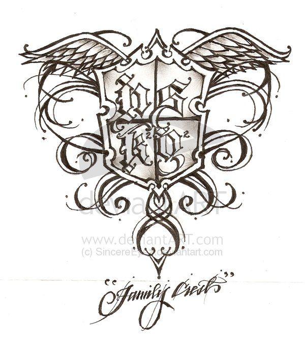 Family emblem Tattoos