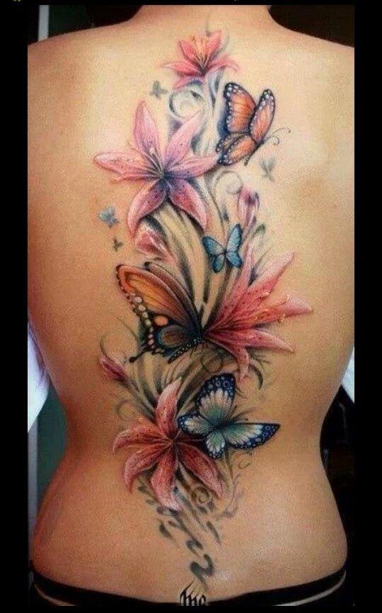 Pretty butterfly tattoos mightylinksfo
