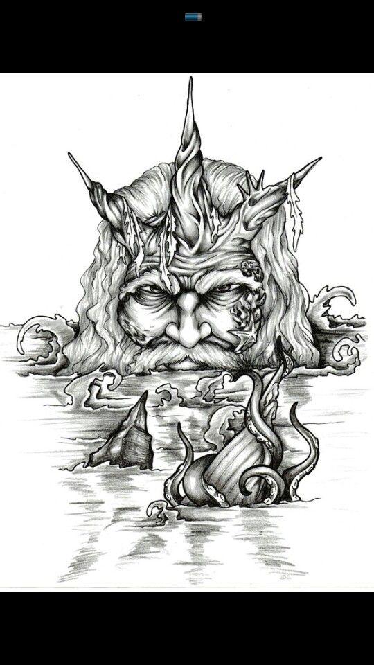 King Neptune Tattoos