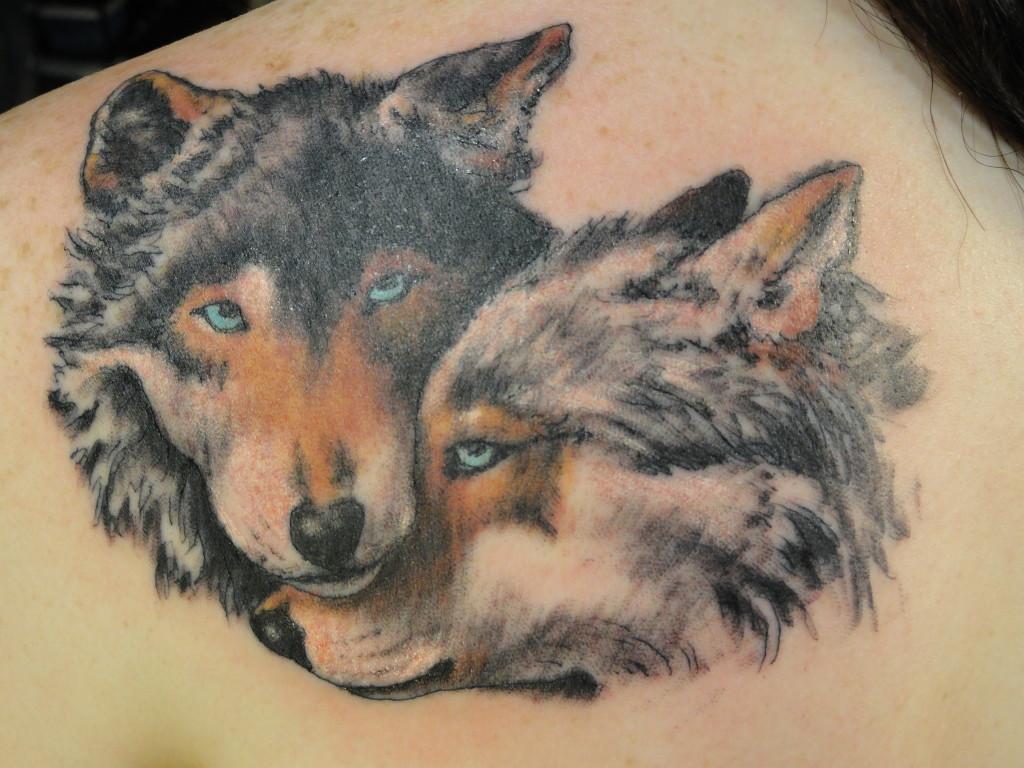 wolf pack tattoos. Black Bedroom Furniture Sets. Home Design Ideas