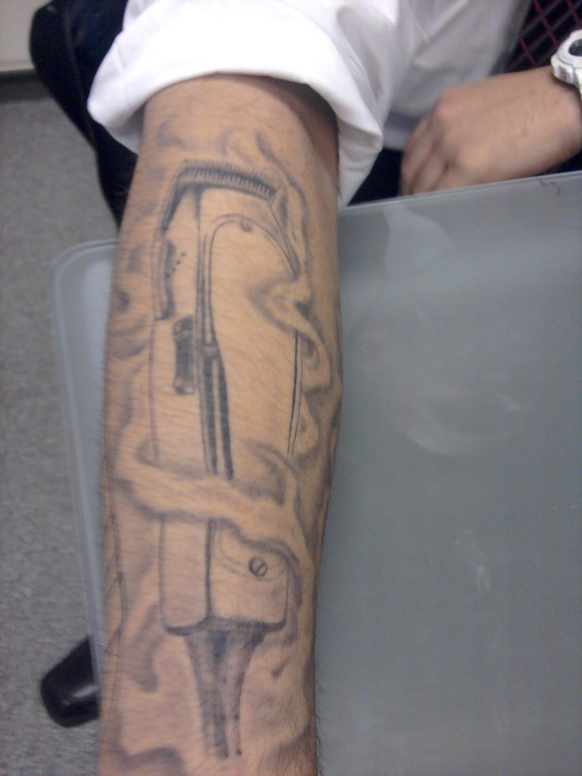 Barber clipper Tattoos