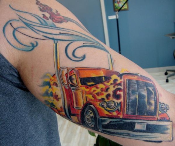 Big Rig Tattoos