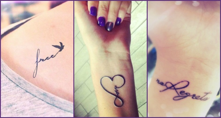 Diwali 2017 Special 3 Spectacular Themes For A Sparkling: One Word Tattoos